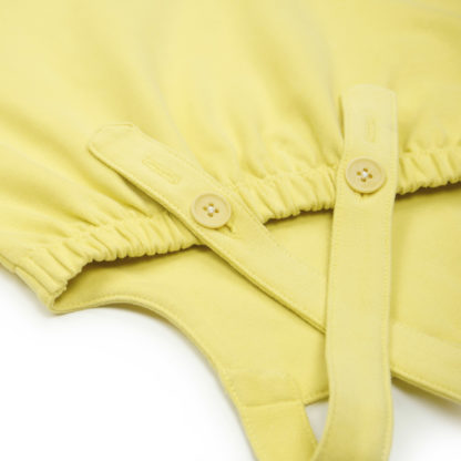 FRIEDA FREI Kleid How Cute in Jumping Yellow - Detail Knoepfe