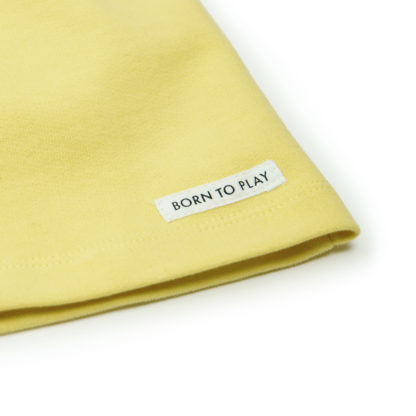 FRIEDA FREI Kleid How Cute in Jumping Yellow - Detail Label