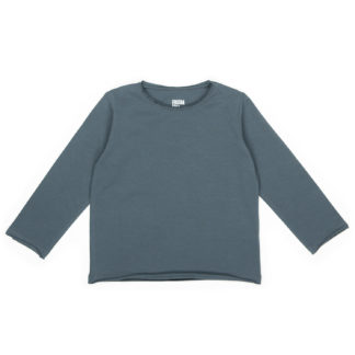 FRIEDA FREI Langarmshirt Vintage Love in Casual Grey
