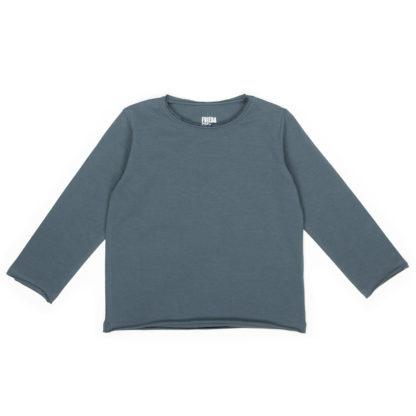 FRIEDA FREI Langarmshirt Vintage Love in Casual Grey