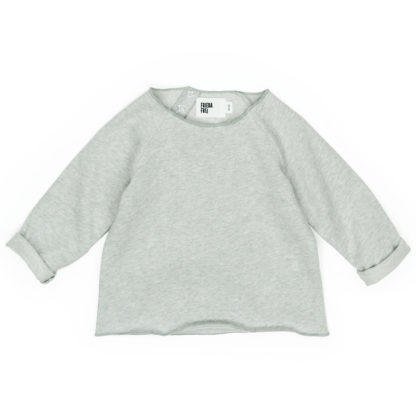 FRIEDA FREI Sweater Inside Out in Casual Grey