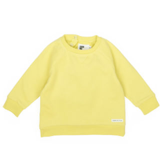 FRIEDA FREI Sweater Solid Friend in Jumping Yellow