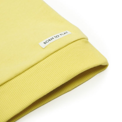 FRIEDA FREI Sweater Solid Friend in Jumping Yellow - Detail