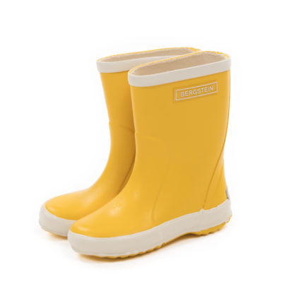 Kinder Gummistiefel Rainboot in Yellow von Bergstein